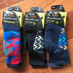 NEW Smartwool ski / winter snow socks. Youth L